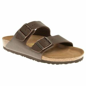 Birkenstock-Arizona-Dark-Brown-Womens-Sandals