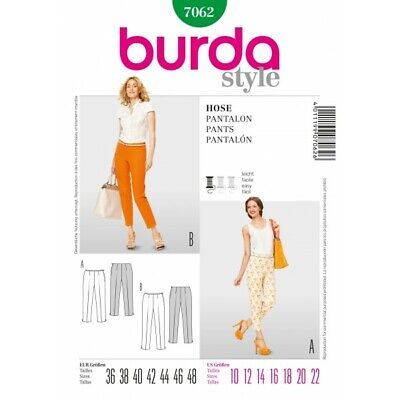 Burda Style SEWING PATTERN 6951 Plus Size Trousers//Pants 16-28