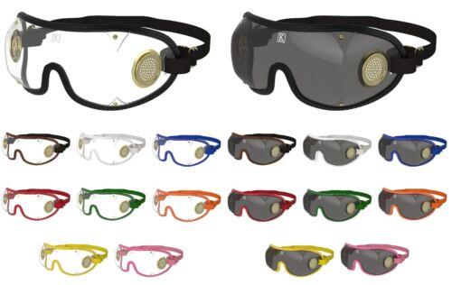 Nouveau-kroops brass ventilé parachutisme parachute lunettesclair + lentilles teintées