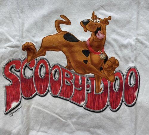Vintage Scooby Doo Cartoon Network 2002 Size Mediu
