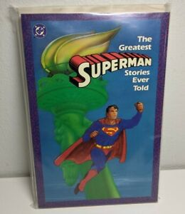 THE GREATEST SUPERMAN STORIES EVER TOLD TPB SC 1987