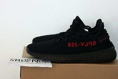 Adidas Yeezy Boost 350 v2 Core Black Red Size 6 UK
