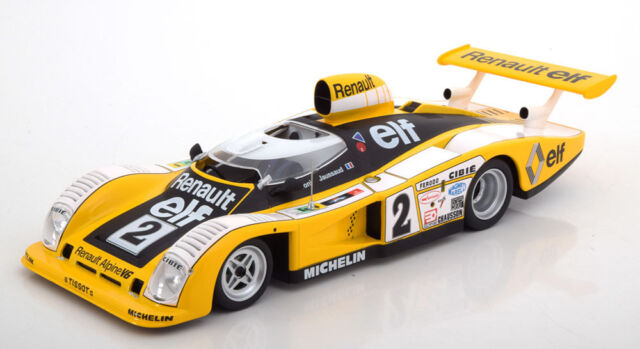 Renault Alpine A442B 2.0L Turbo V6 Winner Le Mans 1978 EDICOLA 1:43 ED2235005 Mo
