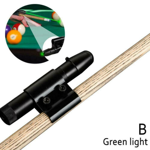 Pool Snooker Cue Laser Sight Billard Trainingsgeräte Übungshilfe Korrektor TD