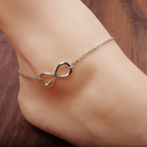 Gold Silver Pearl Ankle Bracelet Women Anklet Chain Foot Summer Beach Jewelry
