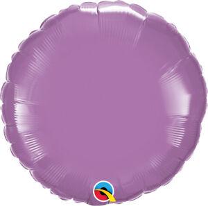 LILAC-ROUND-BALLOON-18-034-METALLIC-SPRING-LILAC-PLAIN-QUALATEX-FOIL-BALLOON