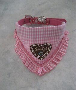 Halstuch Halsband 27-33 cm Halsumfang Hundehalstuch Dreieckstuch Hundebekleidung
