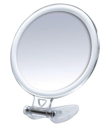 Taschenspiegel,Reisespiegel zweiseitig RIDDER Kosmetik Spiegel Crysta