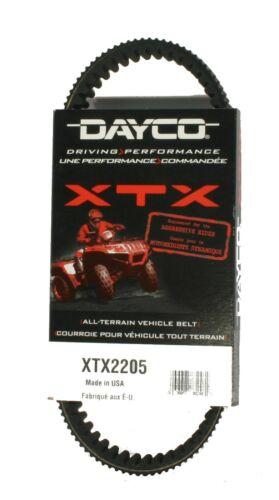 Dayco XTX2205 Xtreme Drive Belt Yamaha Rhino 450 2006-2009