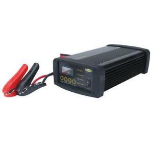 3 Yr War Caterpillar CAT Professional Intelligent Battery Charger 25AMP CBC25E