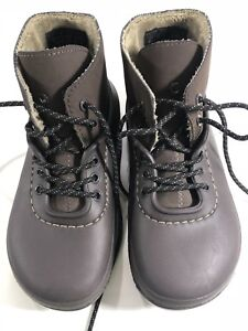 02e7bf1bda34b Crocs Rain Snow Ankle Boots Lace Up Lined Clog All Weather Mens 4 ...