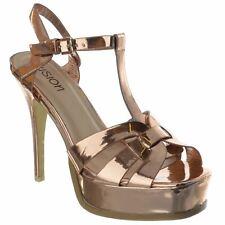 dca3a6f1bc item 7 Womens High Stiletto Heel Ankle Strap Party Platform Sandals Ladies  Shoes Size -Womens High Stiletto Heel Ankle Strap Party Platform Sandals  Ladies ...