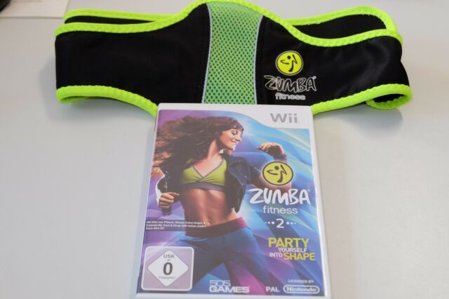 Zumba Fitness 2: Party Yourself Dans Forme Pour Nintendo Wii Avec Ceinture