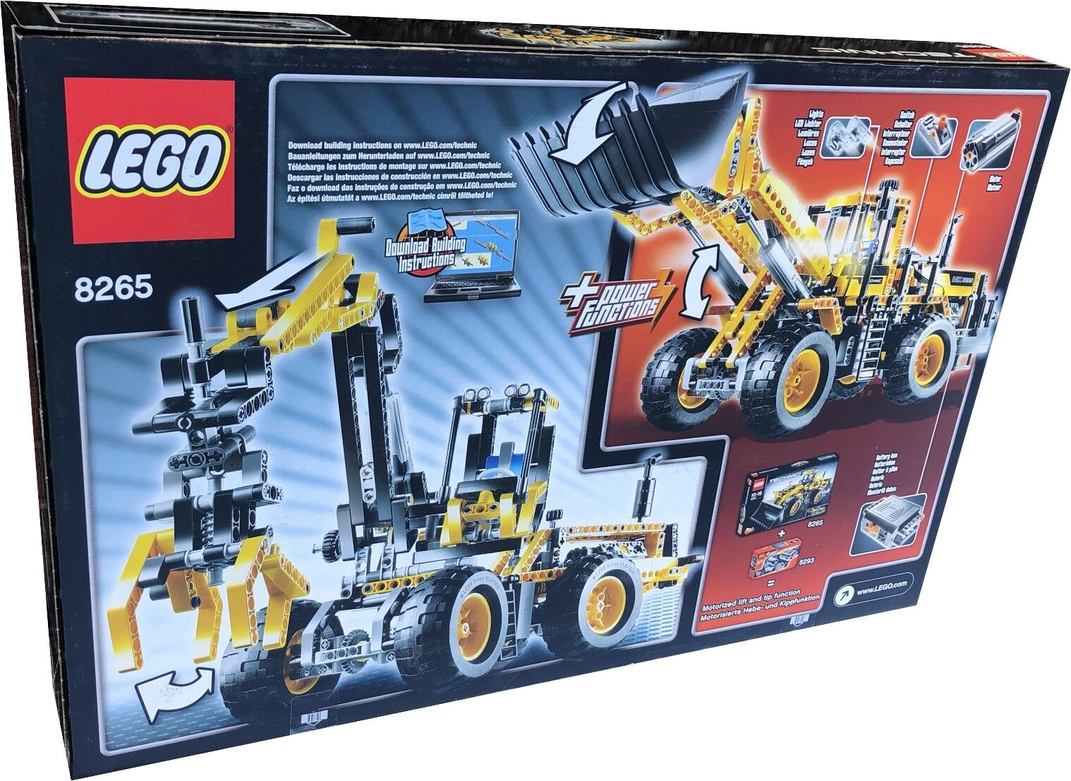 LEGO ® 8265 Technic Front Chargeur Chargeur Chargeur Chargeur NEUF  neuf dans sa boîte | Valeur Formidable  1cf49d