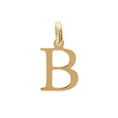 2A481A15512 BigBang-Bijoux Pendentif Initiale Lettre L Classique Plaqué Or