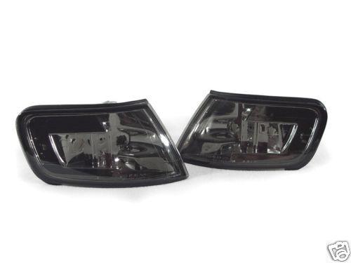 DEPO JDM Pair of Smoke Smoked Front Corner Lights For 1994-1997 Honda Accord