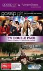 Gossip Girl Season 1 / Vampire Diaries : Season 1 (DVD, 2010, 10-Disc Set)