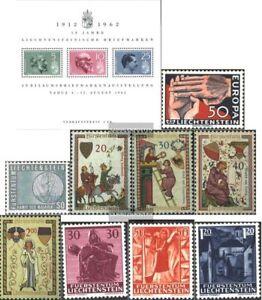 Liechtenstein-Block6-418-426-kompl-Ausg-Jahrgang-1962-komplett-postfrisch-196