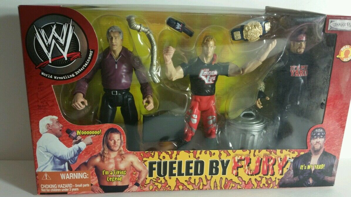 WWE FUELED BY FURY ACTION FIGURES(039)