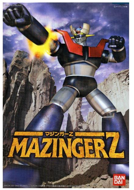 BANDAI Mechanic Collection Mazinger Z Japan import Plastic Plastic Plastic Model NEW 523f7f