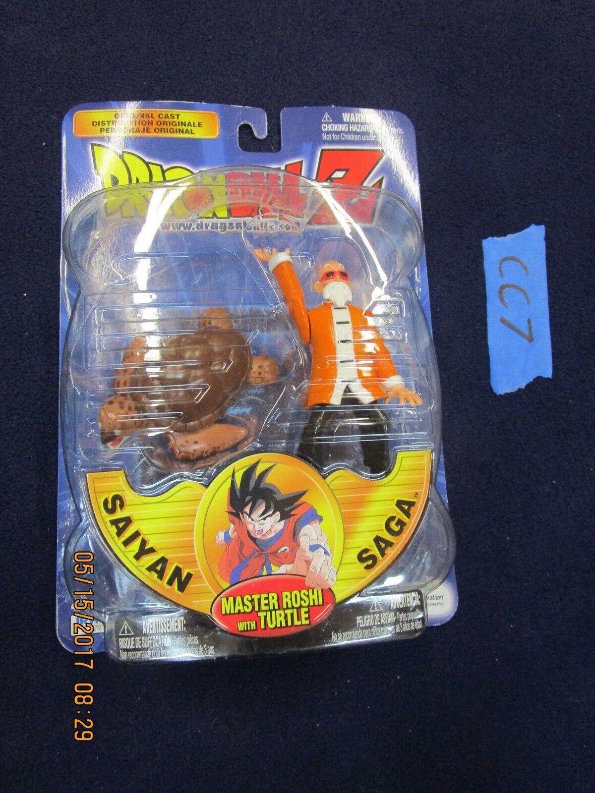 CC7 Irwin Toy Dragon Ball Z orange VARIANT MASTER ROSHI W  TURTLE DBZ dragonball