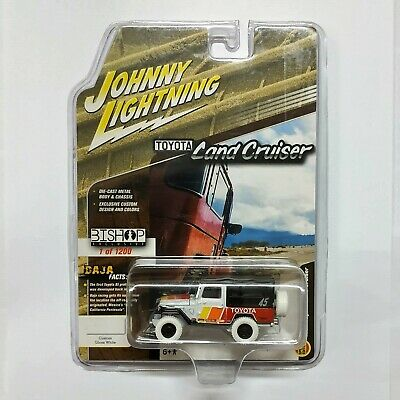 JOHNNY LIGHTNING BISHOP 1980 TOYOTA LAND CRUISER FJ40 INTERSPORT INDONESIA