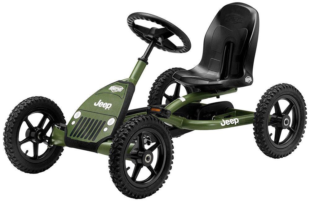 Berg Buddy Jeep Junior Kids Pedal Car Go  Kart 3 - 8 Years NEW  100% price guarantee