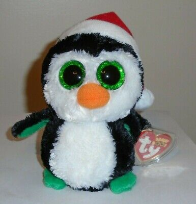 NEW MWMT Ty Beanie Boos ~ IGLOO the Holiday Penguin Regular Size ~ 6 Inch