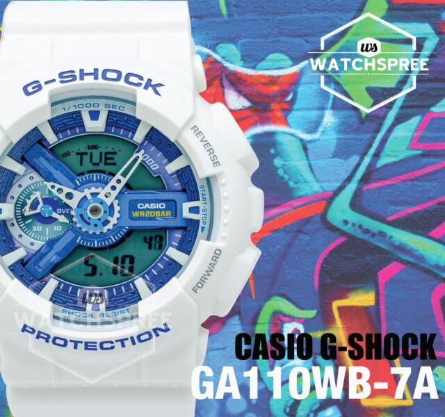 Casio G-Shock based on GA110 Ana-Digi Series Watch GA110WB-7A AU FAST & FREE