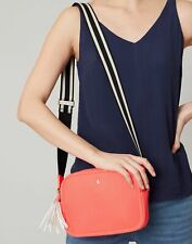 Joules Womens Faye Premium Pu Camera Bag - CORAL in One Size