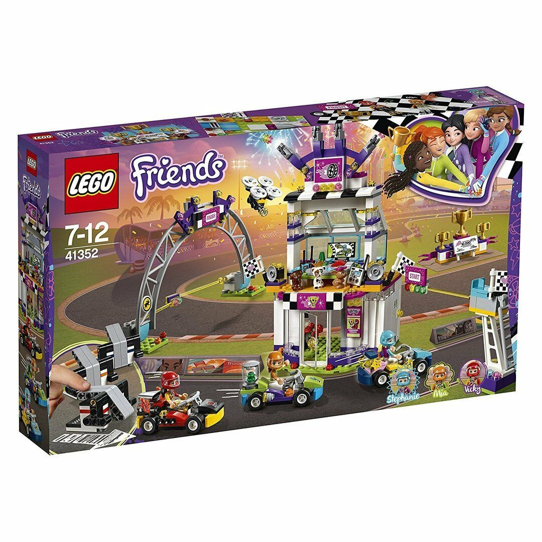 Lego 41352 Friends - Día de la Gran Carrera - NUEVO