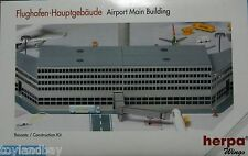 Herpa 519625 Airport Diorama Main Building 1:500 Scale Two Departure Halls New