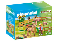 Playmobil 9316 Farm Animals Enclosure (Farm & Animals, Playsets) Age 3+