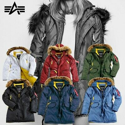 Woman Alpha Pps Wmn Coat N3b Parka Industries Down Womens NewEbay Jacket bgf7Yy6