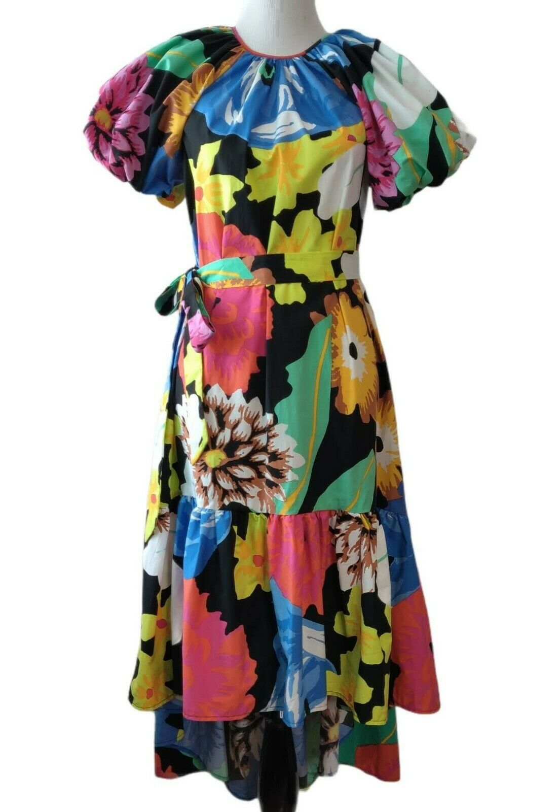 Christopher John Rogers Target Womens Floral Puff… - image 2