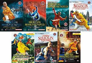 Chinese-traditional-martial-arts-Shaolin-Kungfu-complate-Set-Shi-Deyang-7DVD
