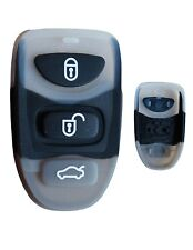 Rubber button pad for Hyundai Coupe Elantra 3 button remote alarm key fob