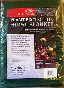DUPONT-Plant-Protection-Frost-Blanket-12-x-10-5-NEW