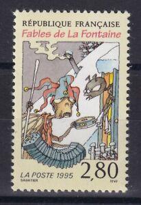 France année 1995 Fables de La Fontaine La Cigale Fourmi N°2958** réf 6858