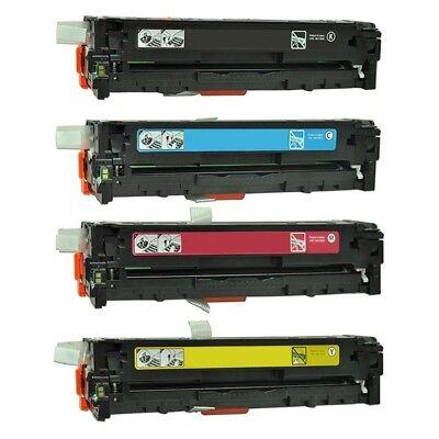 4PK Cartridges for HP CF210A CF211A CF212A CF213A LaserJet Pro 200 M251n M276nw