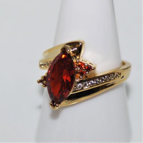 rubin granate rojo acento talla 57 ø18 Precioso anillo de mujer oro 18 K Vandersanden 750 1
