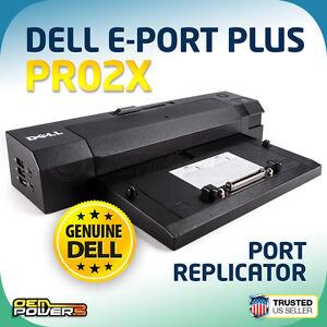 Details about Dell Latitude Laptop E-Port Plus Replicator/Dock  Station/PR02X E6500 ST XT3