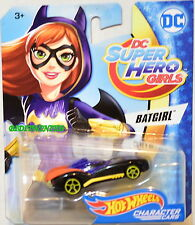 HOT WHEELS 2017 DC SUPER HERO GIRLS BATGIRL BLACK