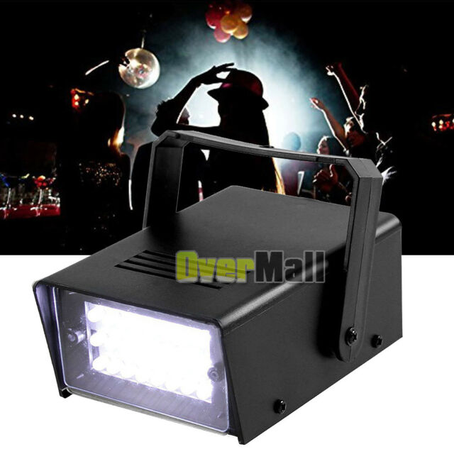 Mini 24 Led Dj Strobe Flash Light Bulb Club Stage Lighting Lamp