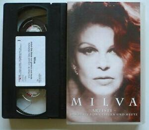 MILVA-Artisti-Das-Beste-von-gestern-und-heute-VHS