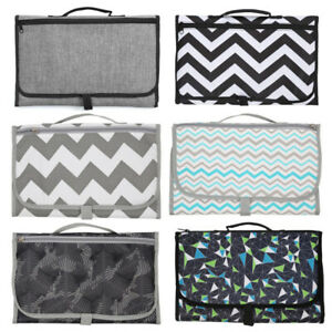 Portable-Baby-Folding-Diaper-Travel-Changing-Pad-Waterproof-Mat-Bags-Storage-r