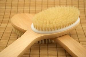 Exfoliating Angled Body Brush Dry Skin Brushing Exfoliation, Detox,Acne,Celulite