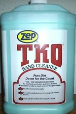 ZEP TKO HAND CLEANER 4 GALLON CASE / WITH HAND PUMP
