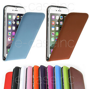 Coque-Housse-Etui-pour-iPhone-6-4-7-034-6S-CUIR-LEATHER-CASE-FLIP-Film-Offert