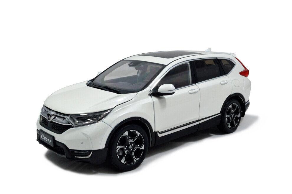 1 18 1 18 Scale Honda CR-V CRV 2017 White Diecast Model Car Paudimodel